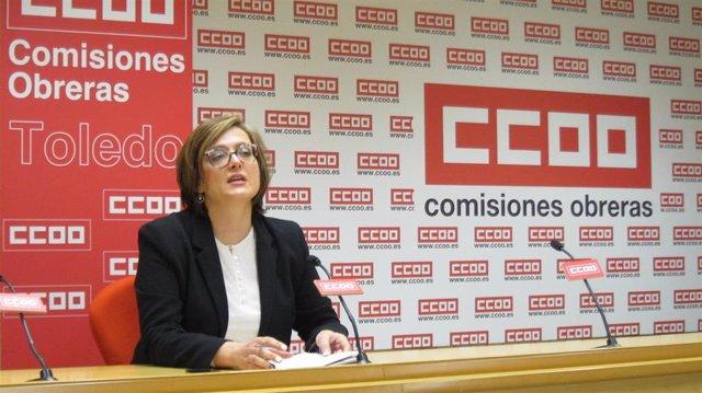 La secretaria de Acción Sindical y Formación Sindical de CCOO C-LM