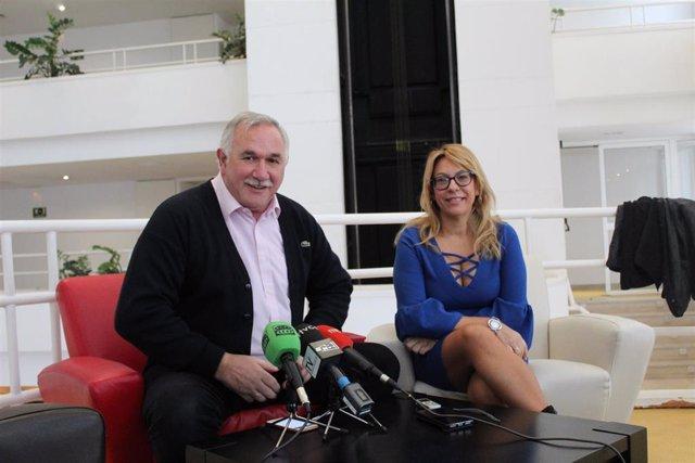 El presidente de la federación de familias numerosas, Benito Zuazu, en Ceuta