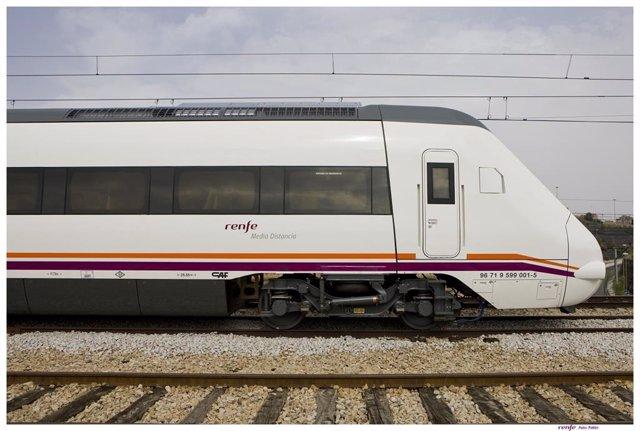 Tren de la serie 599