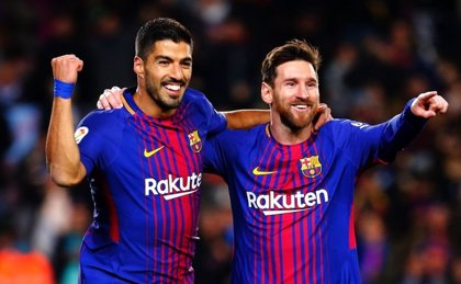 Messi y Suárez suman los mismos o más goles que cada equipo de LaLiga