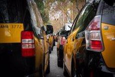 El taxi convoca vaga indefinida després que el Govern hagi plantejat que els VTC precontractin amb 15 minuts (David Zorrakino - Europa Press)