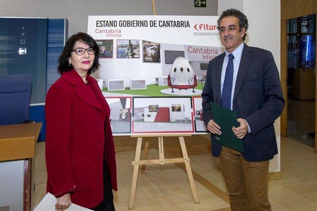 Presentación stand Cantabria en Fitur 2019