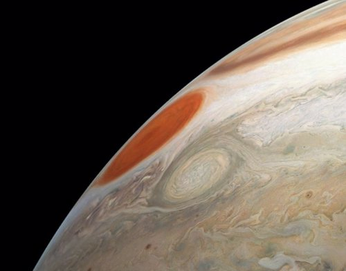 Tormentas masivas en Júpiter
