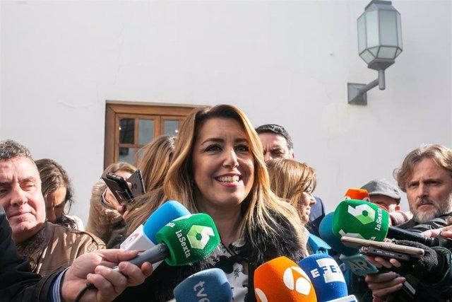 La secretaria general del PSOE-A, Susana Díaz, en una imagen de archivo
