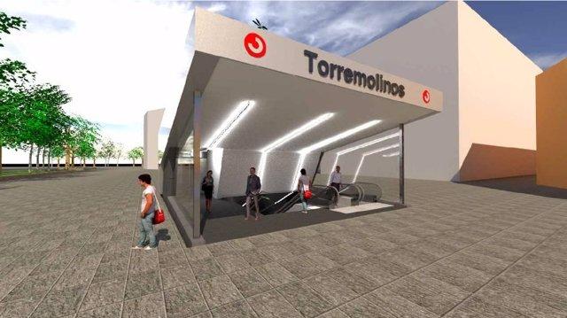 Remodelación estación de Cercanías La Nogalera Torremolinos