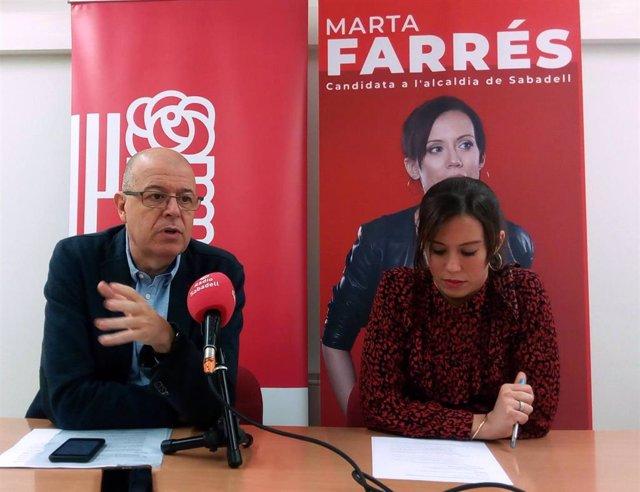 José Zaragoza y Marta Farrés