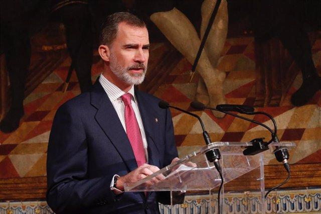 El Rey recibe el XXVII Premio de Convivencia de la Fundación Profesor Manuel Bro