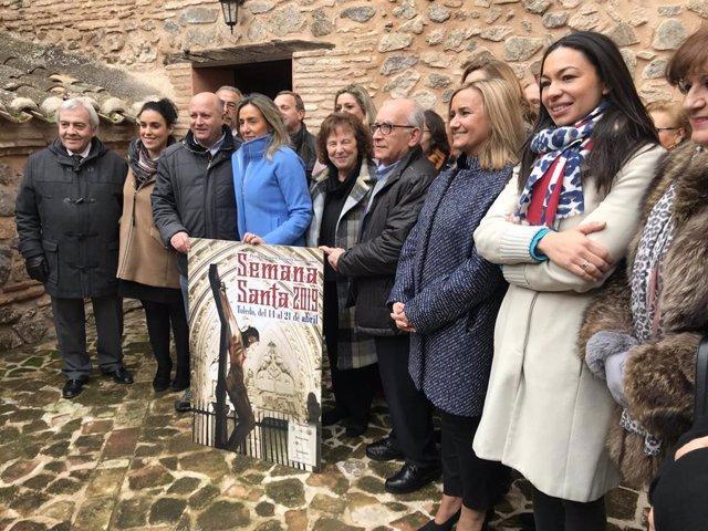 Cartel anunciador de la Semana Santa de Toledo