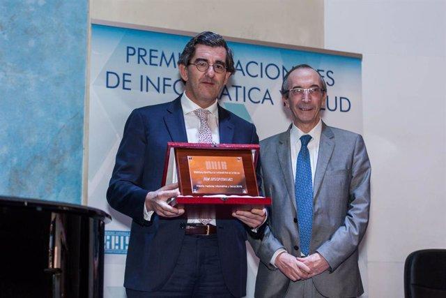 DR. Abarca, HM Hospitales Premio Nacional de Informática y Salud
