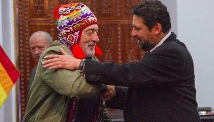 Robert De Niro recibe las llaves de la ciudad de Cusco (Perú) como máxima condecoración