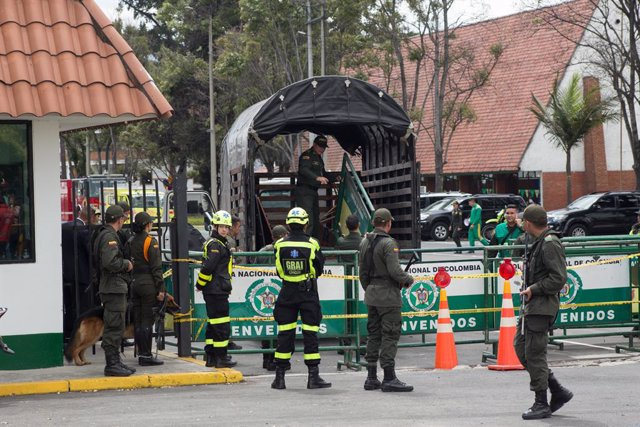 Bomb attack in Colombia