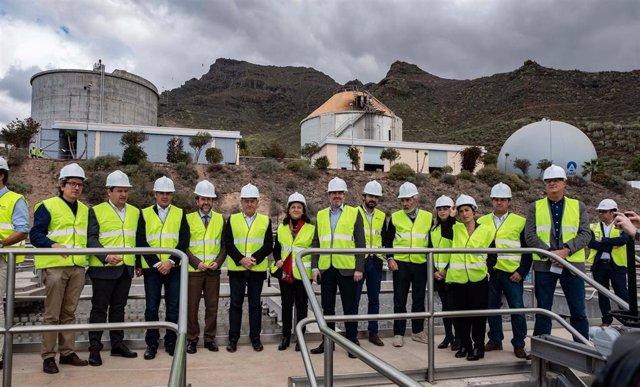 Inauguración De La Edar - Estación Depuradora De Adeje – Arona,
