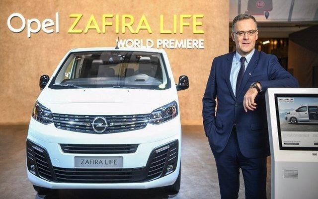 Opel desvela el Zafira Life en el Salón de Bruselas, que se lanzará en el primera trimestre