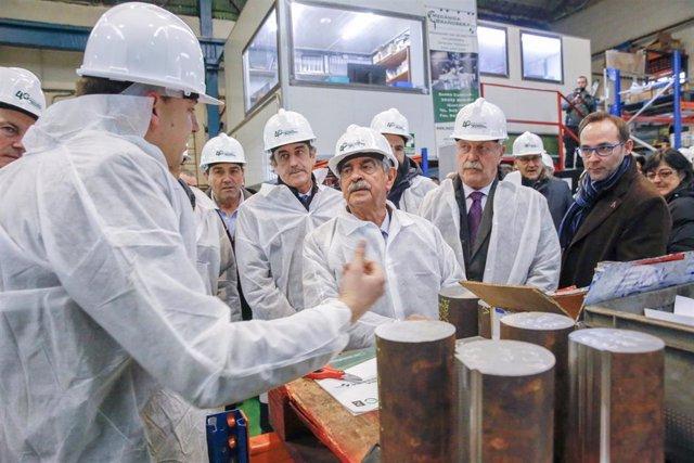 Revilla visita la empresa Mecánica Brasoñera