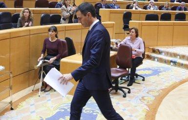El Govern central avança que Sánchez no acudirà al Senat per explicar la seva reunió amb Torra (Ricardo Rubio - Europa Press)
