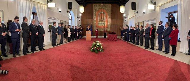 Toma de posesión del Presidente de la Junta Juanma Morero