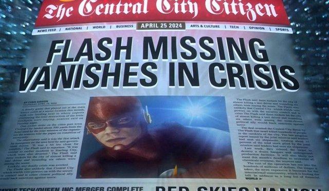 The Flash desaparecido
