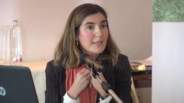 Rocío Blanco, en una jornada como directora de la Segurida Social en Málaga