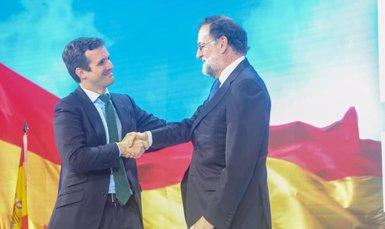 Casado veu la convenció el primer pas per tornar a La Moncloa i evitar un altre govern de populistes i independentistes (RICARDO RUBIO/EUROPA PRESS)