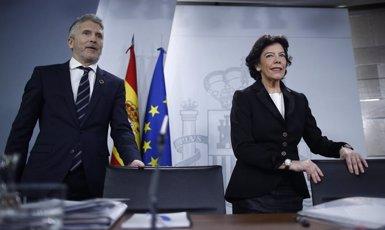 Marlaska insisteix que les detencions per bloquejar l'AVE l'1-O no van ser desproporcionades (Eduardo Parra - Europa Press)
