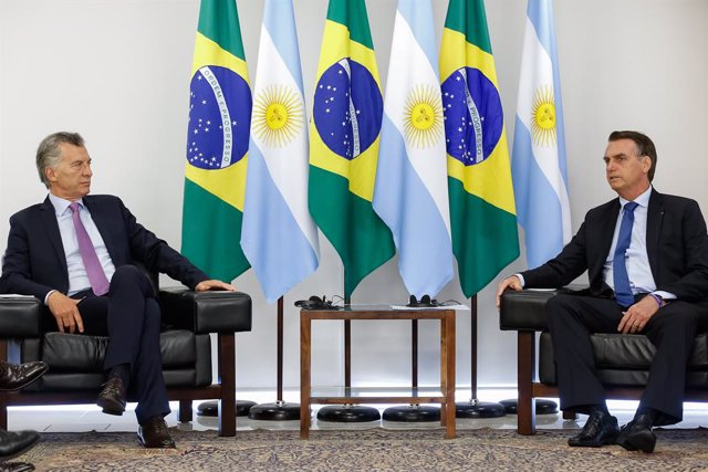 Argentinian President Mauricio Macri visits Brazil