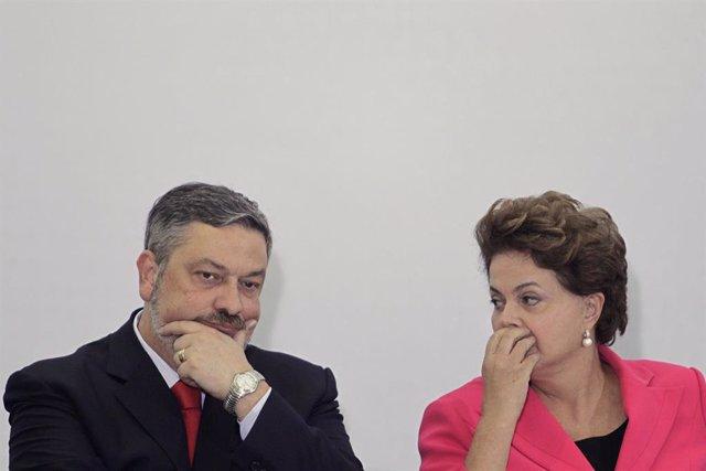 Palocci Y Rousseff