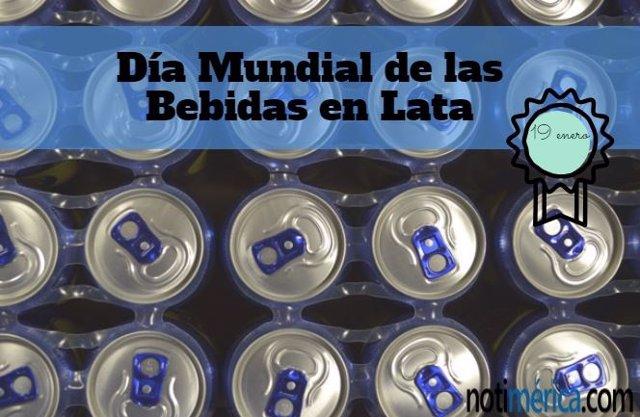 Día Mundial de las Bebidas en Lata