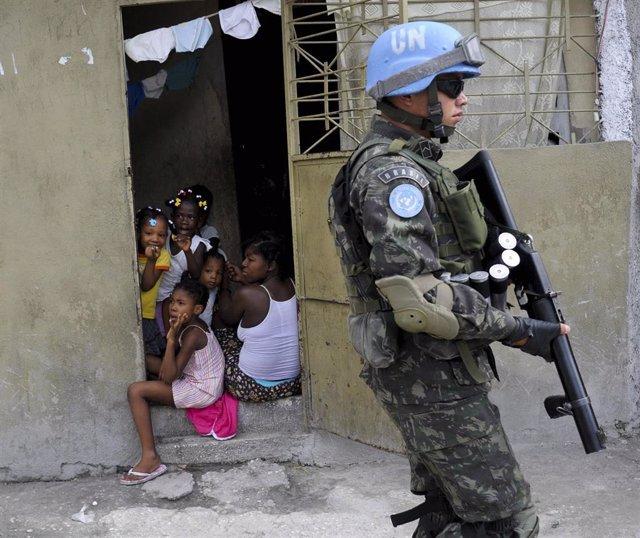 Misión de la ONU en Haití (MINUSTAH)