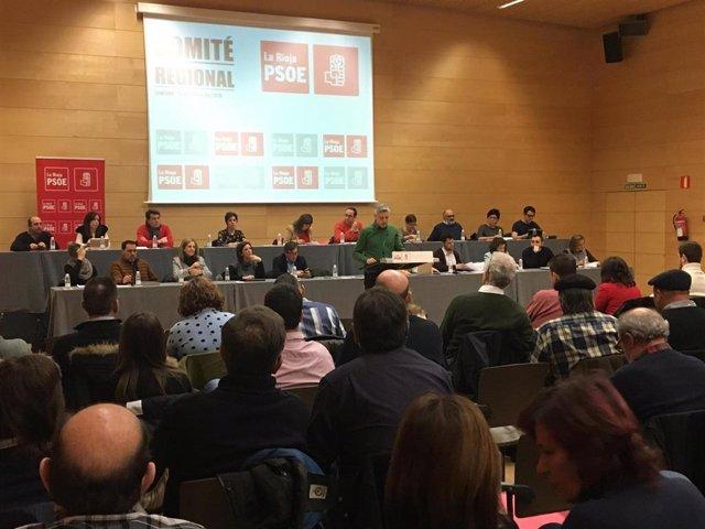 Comité Regional del PSOE La Rioja