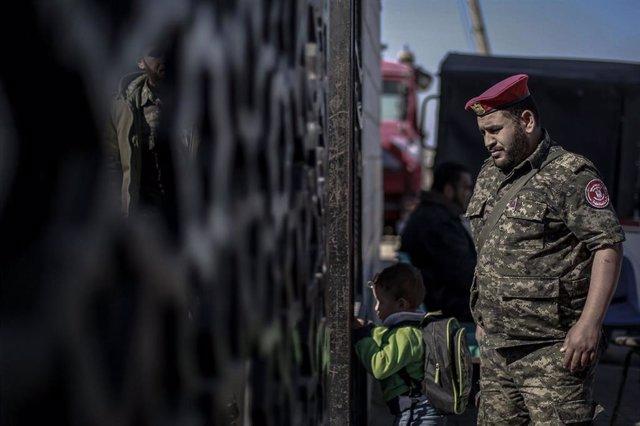 Hamás en paso de Rafá