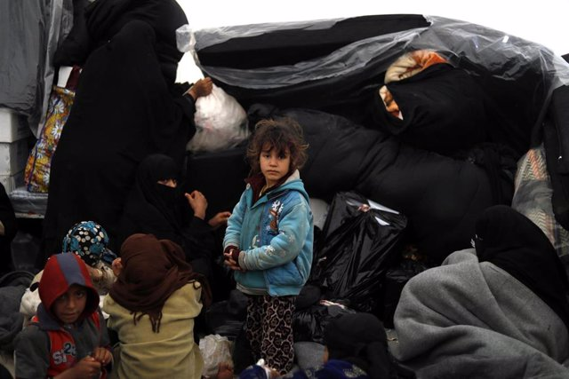 Desplazados internos en Siria