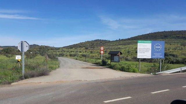 Camino rural de Extremadura