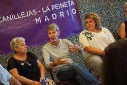 JULIO RODRIGUEZ EMPIEZA A RECOGER LAS PROPUESTAS DE LOS COLECTIVOS EN PLENO CONFLICTO ENTRE IGLESIAS Y ERREJON
