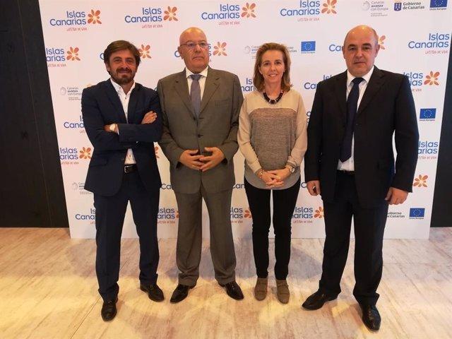Presidentes de las Patronales Hoteleras de Canarias