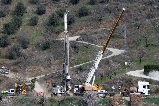 Tuneladoras trabajan en el rescate de Julen