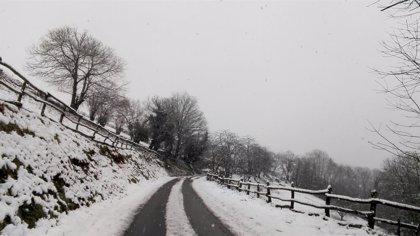 La Ibérica riojana extiende el riesgo amarillo por nevadas hasta el final de la jornada del domingo