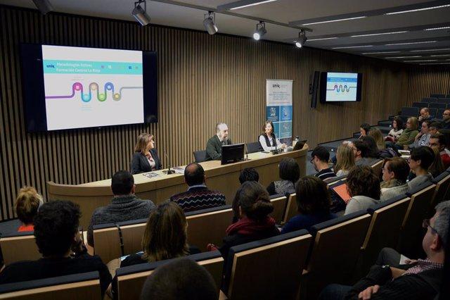 UNIR y el Gobierno de La Rioja forman a 60 profesores en metodologías activas
