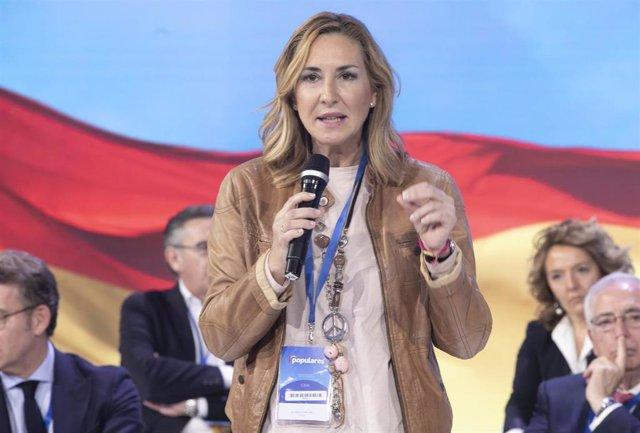Ana Beltrán en la Convención Nacional del PP