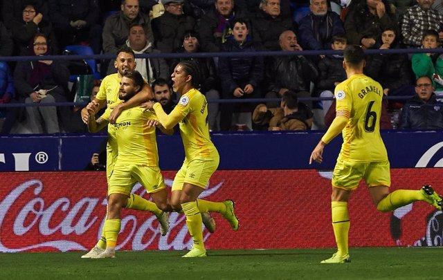Soccer: Levante v Girona - La Liga