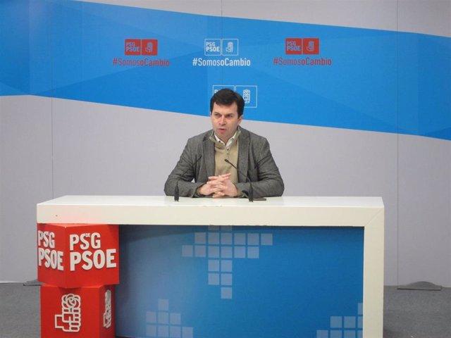 Secretario xeral de PSdeG, Gonzalo Caballero