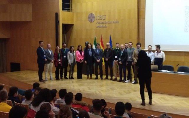 La 'savia nueva del deporte' se vincula al Cross de Itálica (Sevilla) a través de sus jornadas técnicas