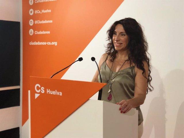 Rocío Ruiz, candidata de Ciudadanos al Parlamento por Huelva.