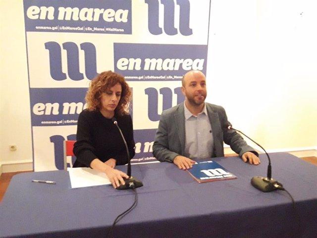 PGE.- Villares avisa a los diputados de En Marea en el Congreso que quien fija su posición es la dirección gallega
