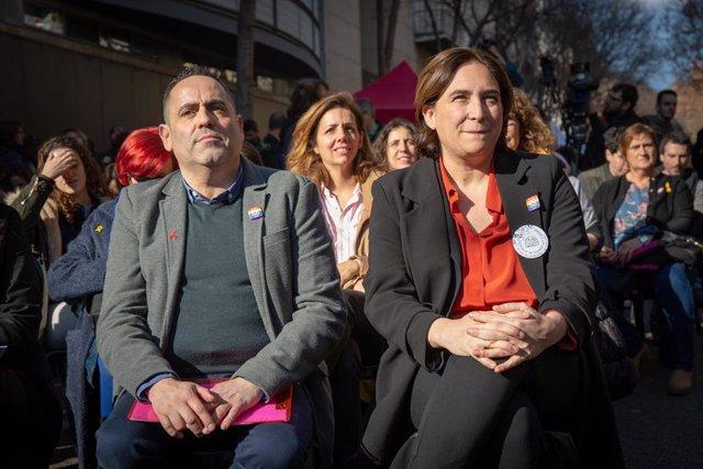 Visita de la concejala de Feminismos y LGTBI del Ayuntamiento de Barcelona, Laur