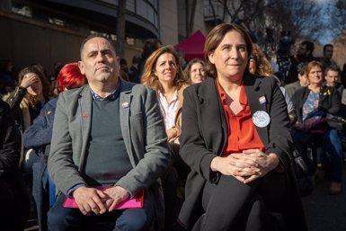 """Colau obre el Centre LGTBI de Barcelona i reivindica ser """"la primera alcaldessa bisexual"""" (David Zorrakino - Europa Press)"""