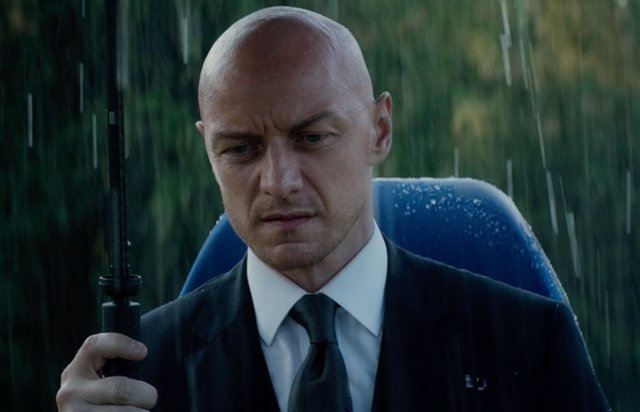 James McAvoy en X-Men Dark Phoenix