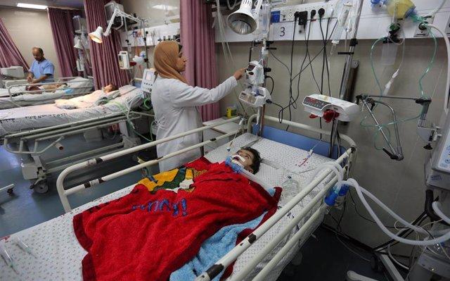 Una ONG cifra en 45 los niños palestinos muertos por el Ejército israelí en las protestas en Gaza