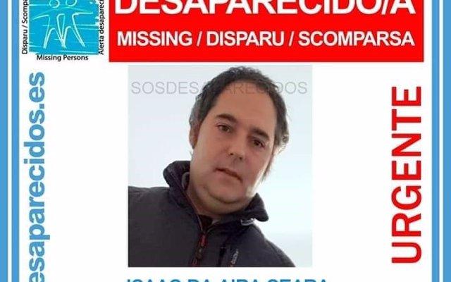 Denuncian la desaparición de un vecino de Cambre (A Coruña) de 38 años que falta de su domicilio desde el jueves