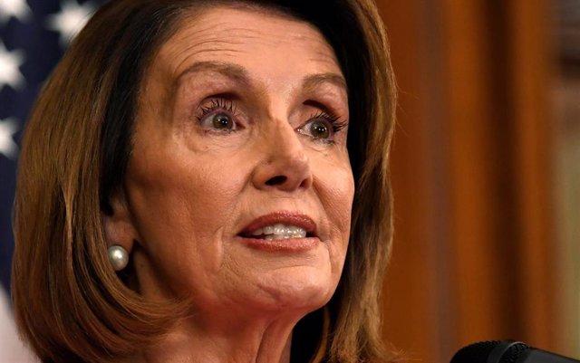 La líder demócrata Nancy Pelosi