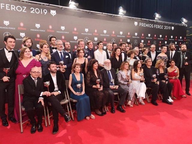 Ganadores de los Premios Feroz 2019